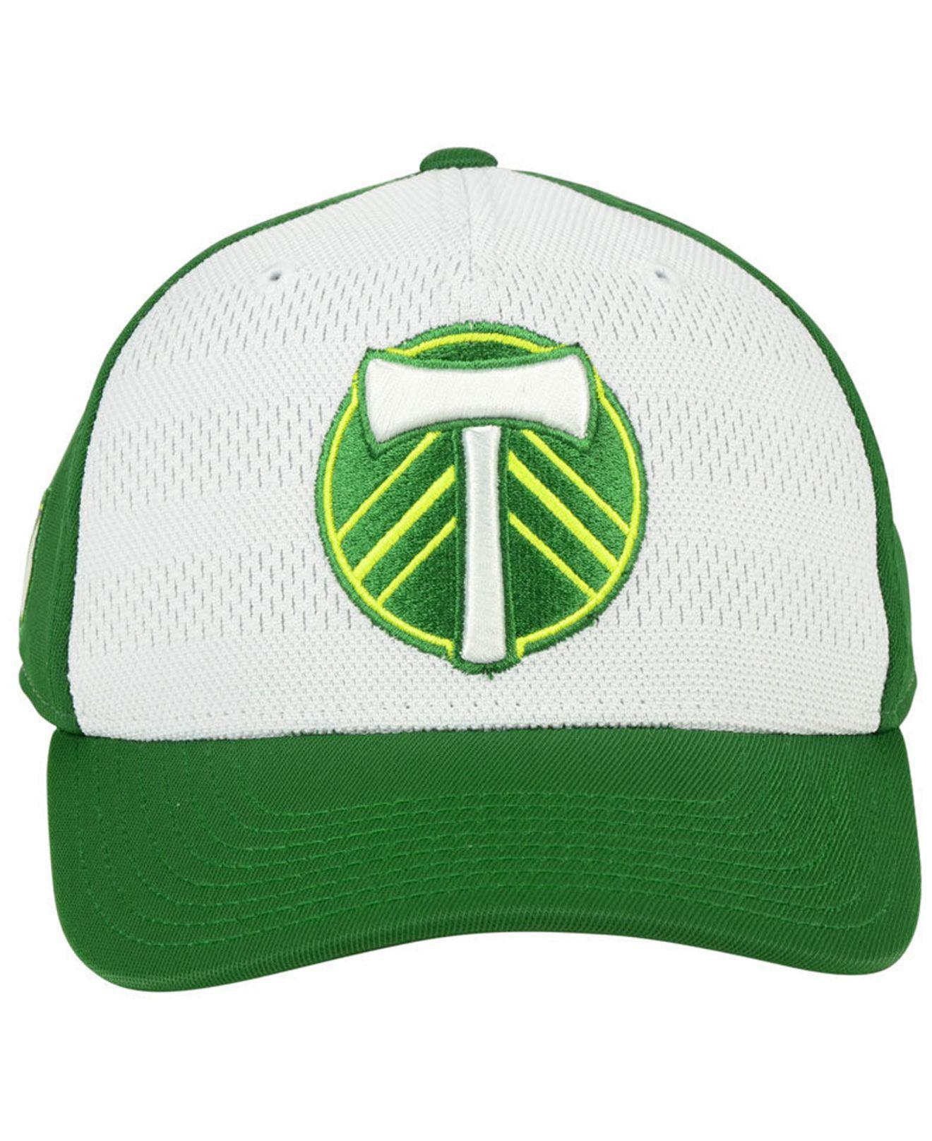 buy online 56685 34917 ... view fullscreen e03bb f4771  order lyst adidas portland timbers  authentic flex cap in green for men 8d3d1 abbce