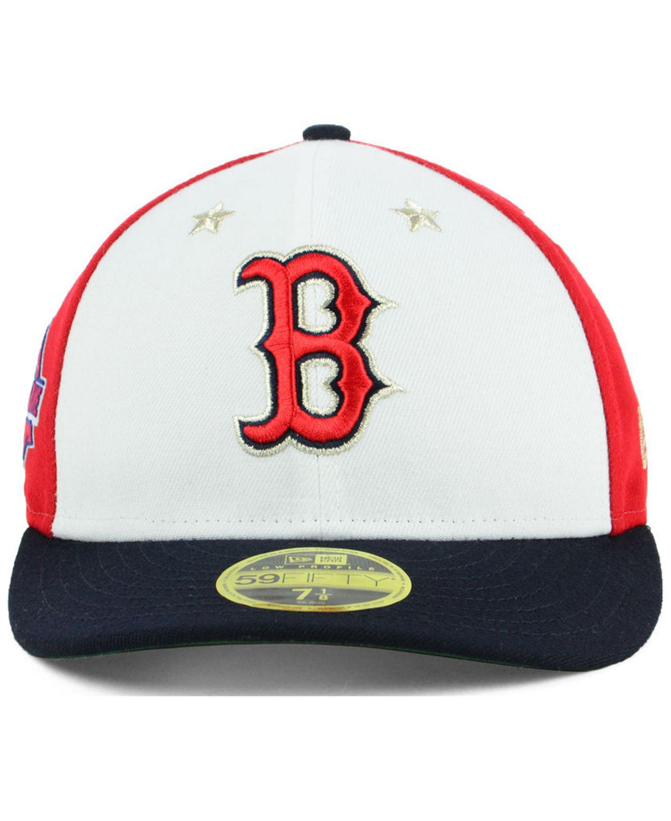 various colors 09a60 df49c KTZ Boston Red Sox All Star Game Patch Low Profile 59fifty Fitted ...