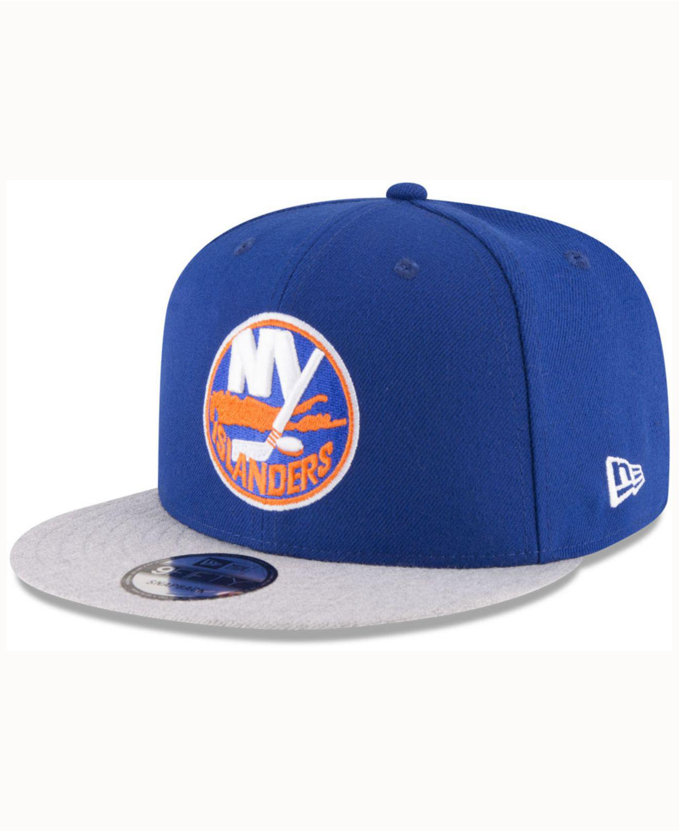 factory authentic ba60c 35c94 ... netherlands lyst ktz new york islanders heather vize 9fifty snapback cap  in 1de55 e5686