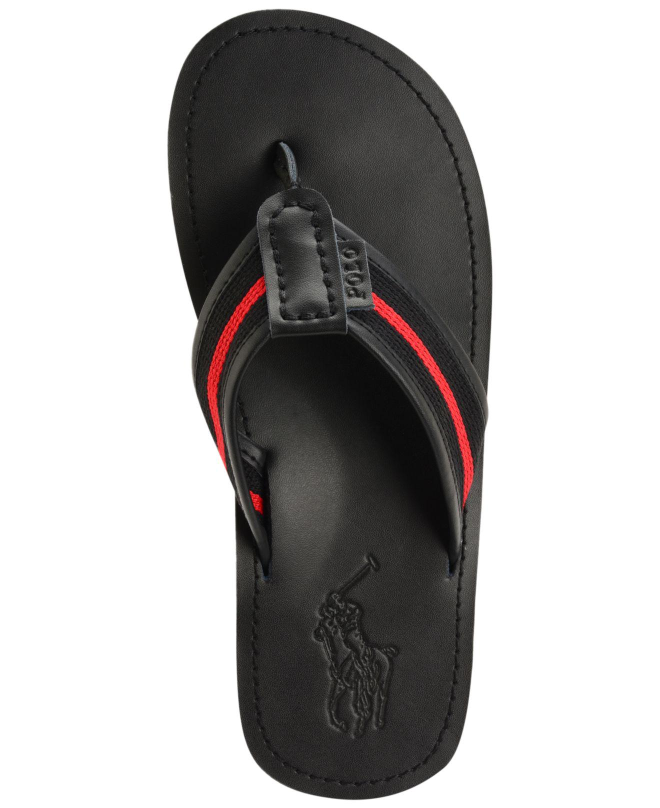 e43c5d986ed Lyst - Polo Ralph Lauren Men s Sullivan Ii Sandals in Black for Men