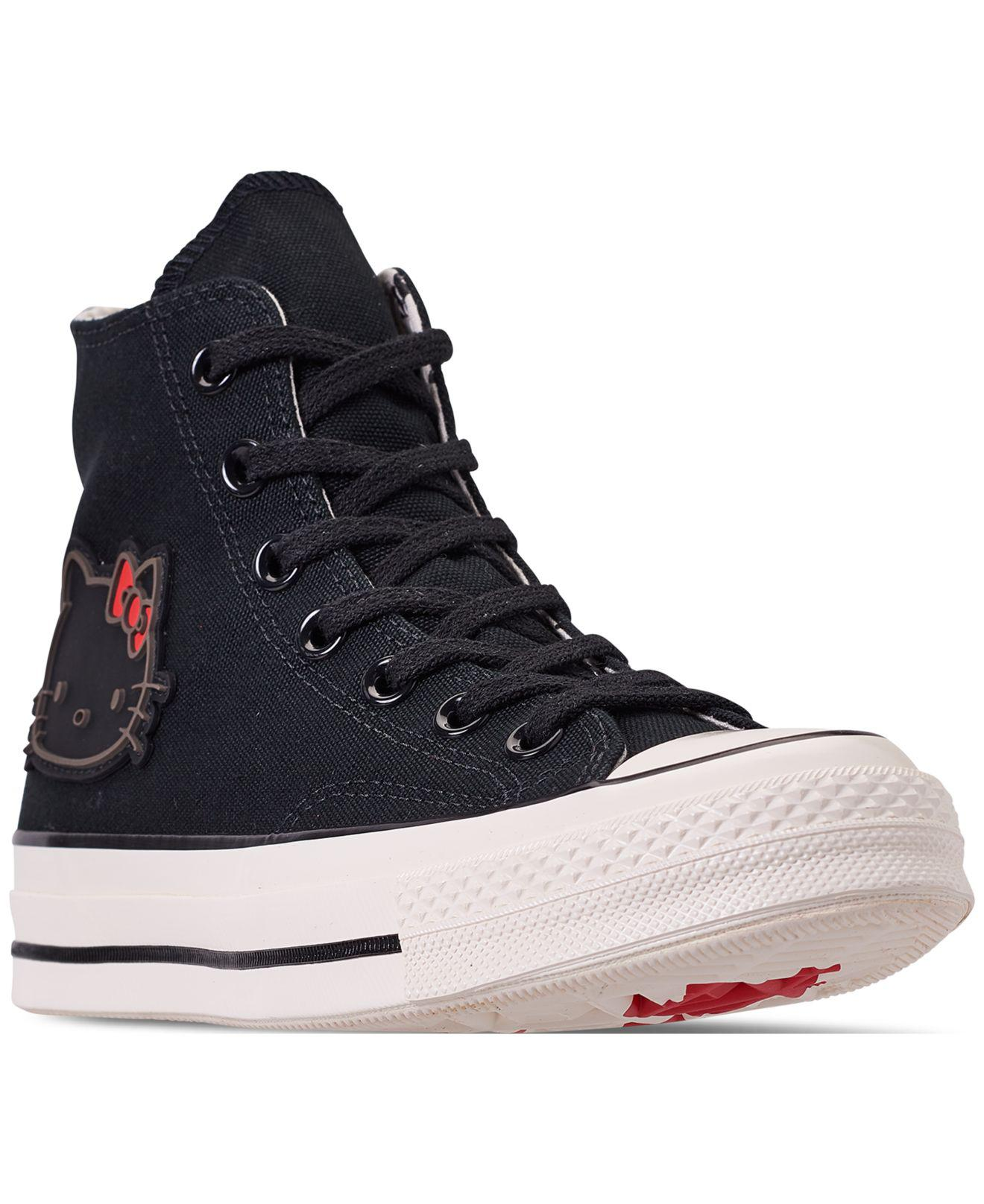 8ee28efcf1b8 Lyst - Converse Unisex Chuck Taylor 70 Hello Kitty High Top Casual ...