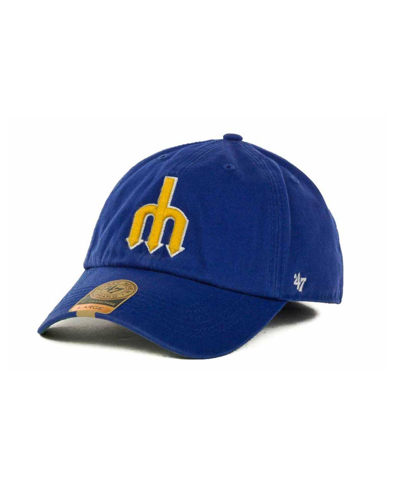 on sale d843f 4fdbb 47 Brand. Men s Green Seattle Mariners Mlb  47 Franchise Cap
