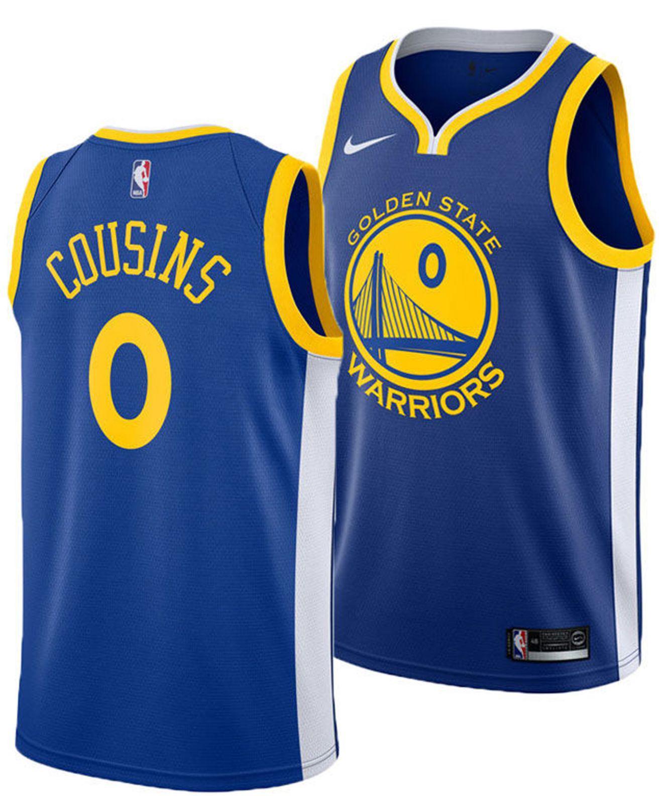 161c719e87577e Lyst - Nike Demarcus Cousins Golden State Warriors Icon Swingman ...