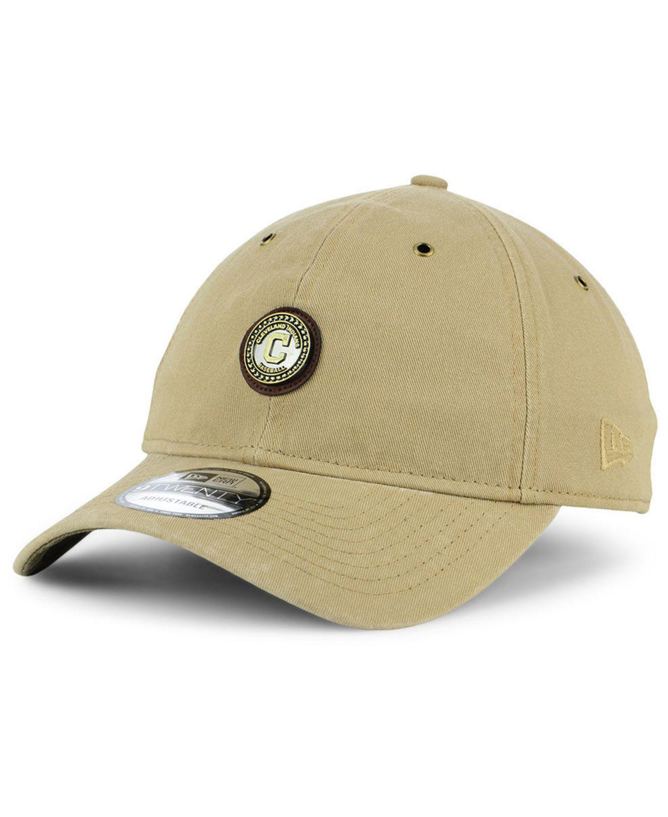 brand new c5b60 e0bbf ... classic 39thirty stretch fit cap ce2fb ff2fa  where can i buy france lyst  ktz cleveland indians coin 9twenty cap for men 93316 65f5a