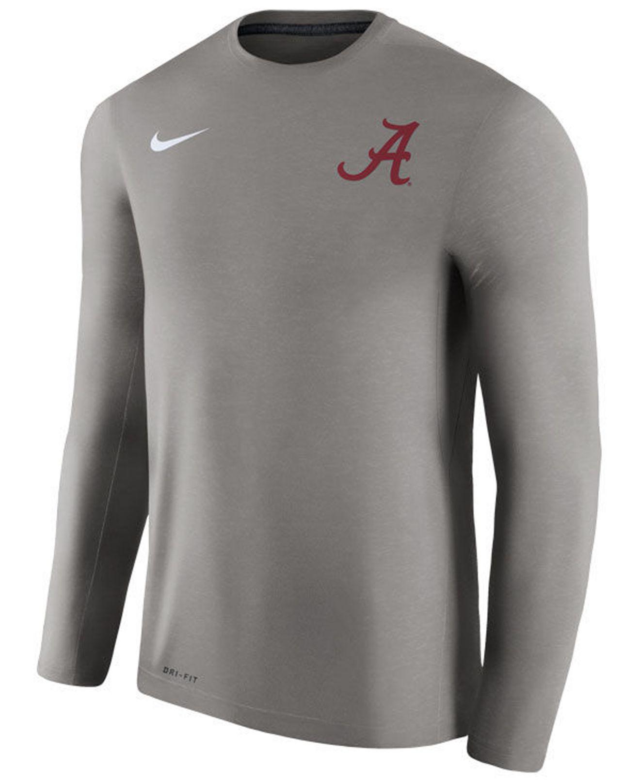 e9fc3317 Lyst - Nike Men's Dri-fit Touch Longsleeve T-shirt in Gray for Men