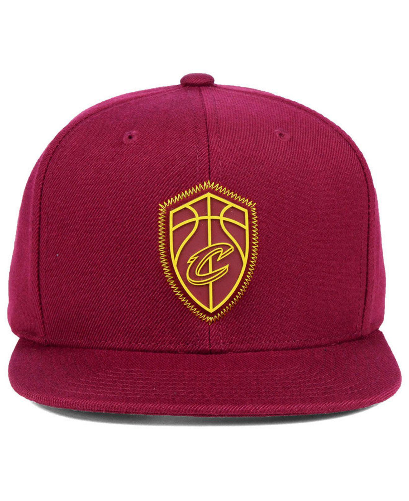 huge selection of d0680 99fd7 ... sweden lyst mitchell ness cleveland cavaliers zig zag snapback cap for  men a50cc 9cff0