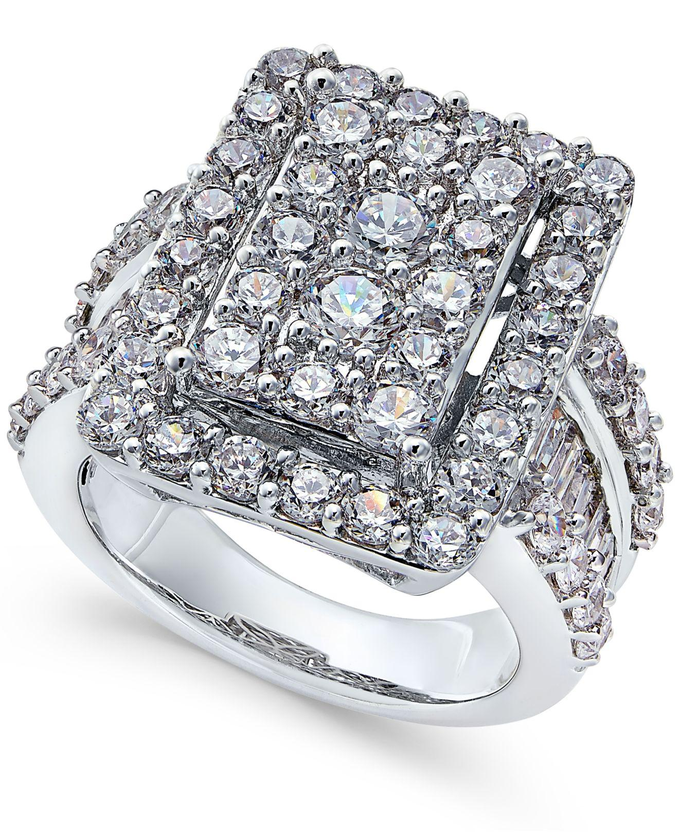rings pinterest quad engagement wedding pin jewels ring diamond introducing stella