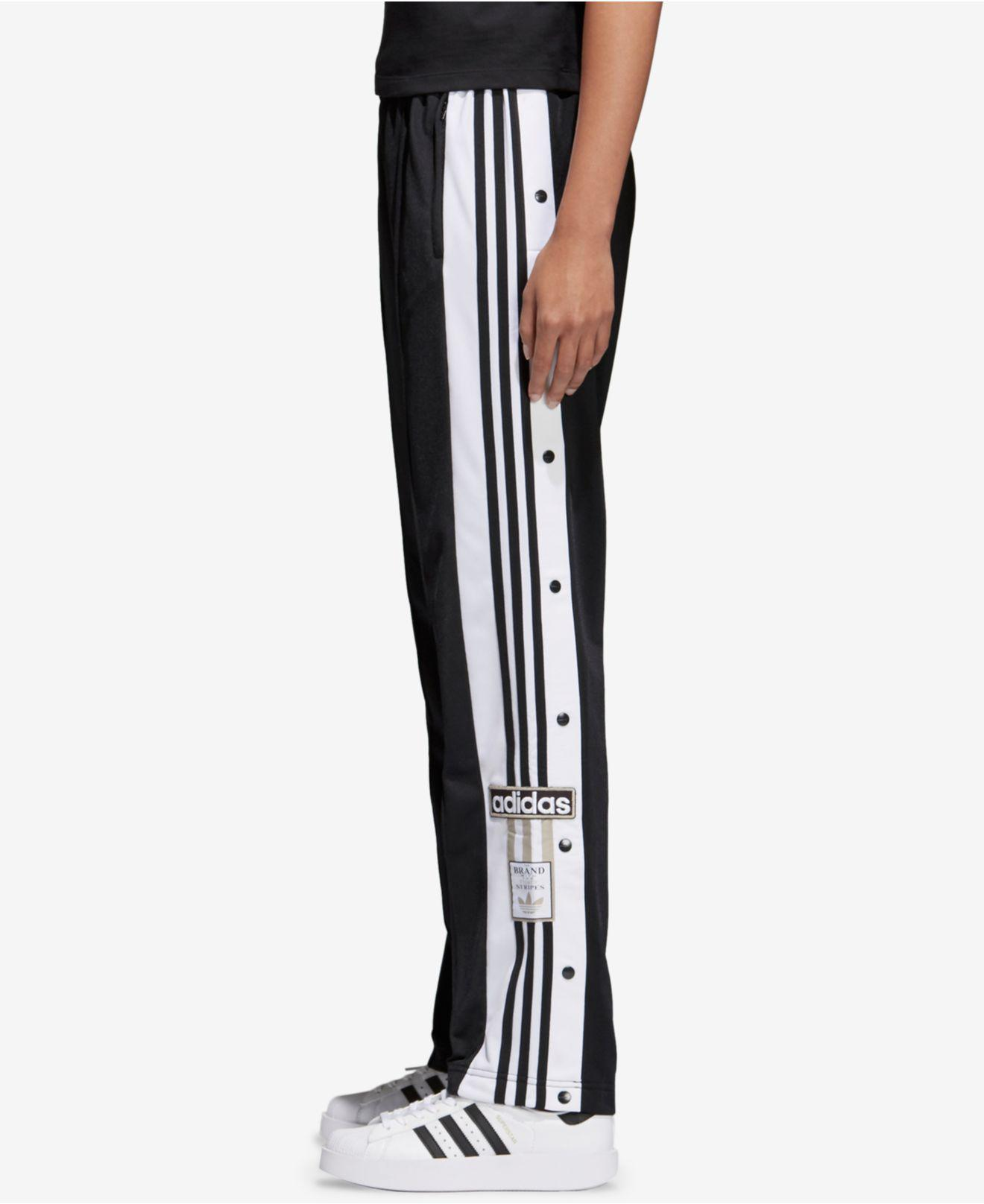 95bd99f86d77 Lyst - adidas Originals Originals Adibreak Track Pants in Black ...