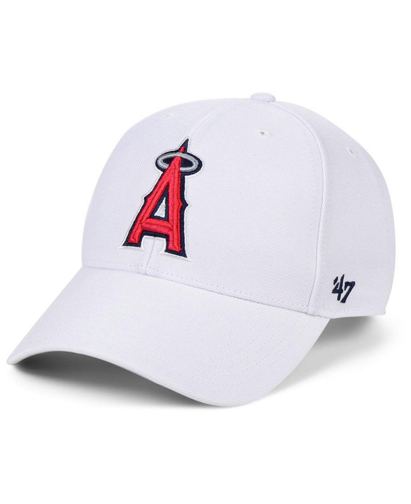 quality design 073c9 d2eea 47 Brand. Women s Los Angeles Angels White Mvp Cap