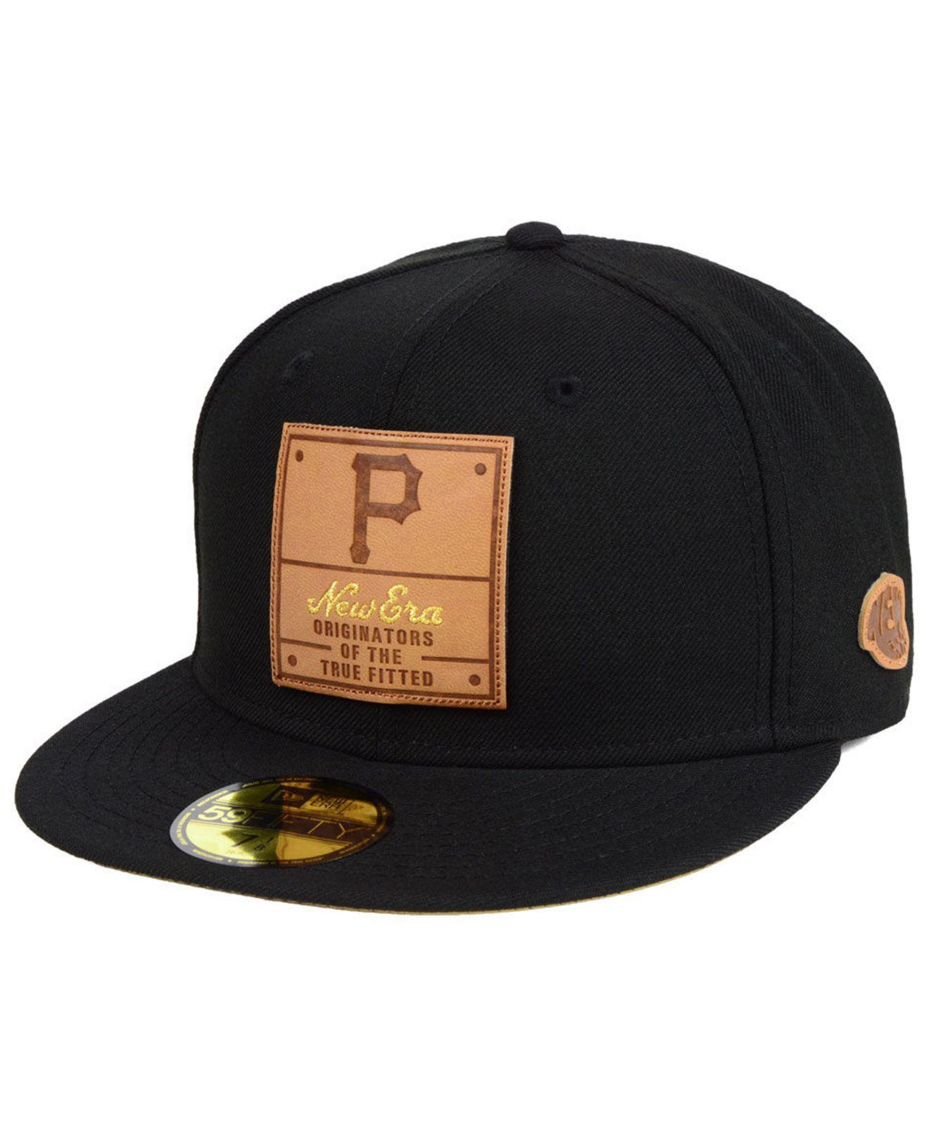 b099ff8f92d Lyst - Ktz Pittsburgh Pirates Vintage Team Color 59fifty Fitted Cap ...