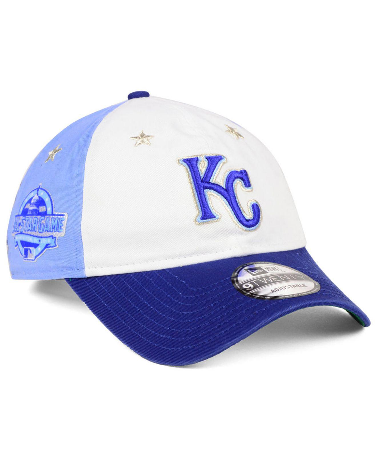 KTZ - Blue Kansas City Royals All Star Game 9twenty Strapback Cap 2018 for  Men -. View fullscreen fd0691b41edd