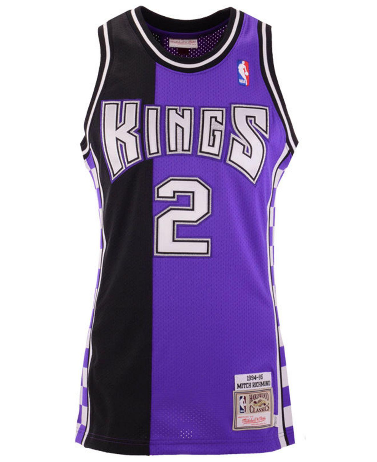 4a422cac6fa Mitchell   Ness Mitch Richmond Sacramento Kings Authentic Jersey in Purple  for Men - Lyst
