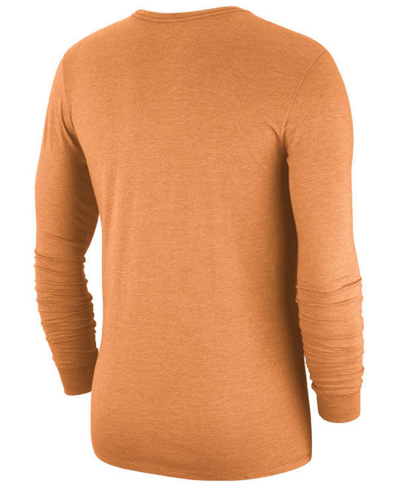 Lyst - Nike (nfl Buccaneers) Men s Tri-blend Long Sleeve T-shirt in Orange  for Men - Save 25.0% 5cf9f317e