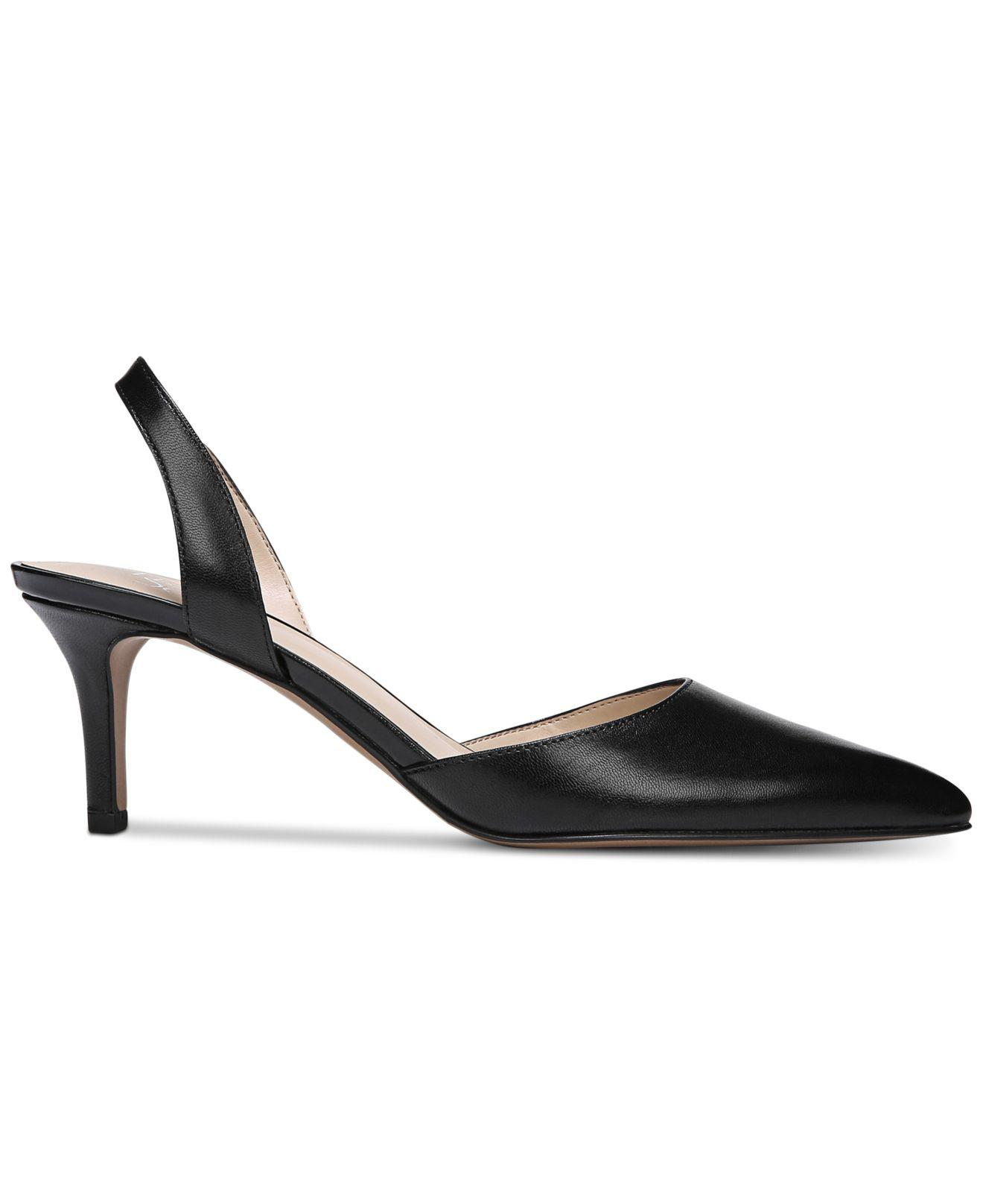 ce41513a22f Franco Sarto Tokyo Pointed-toe Slingback Pumps in Black - Save 52% - Lyst