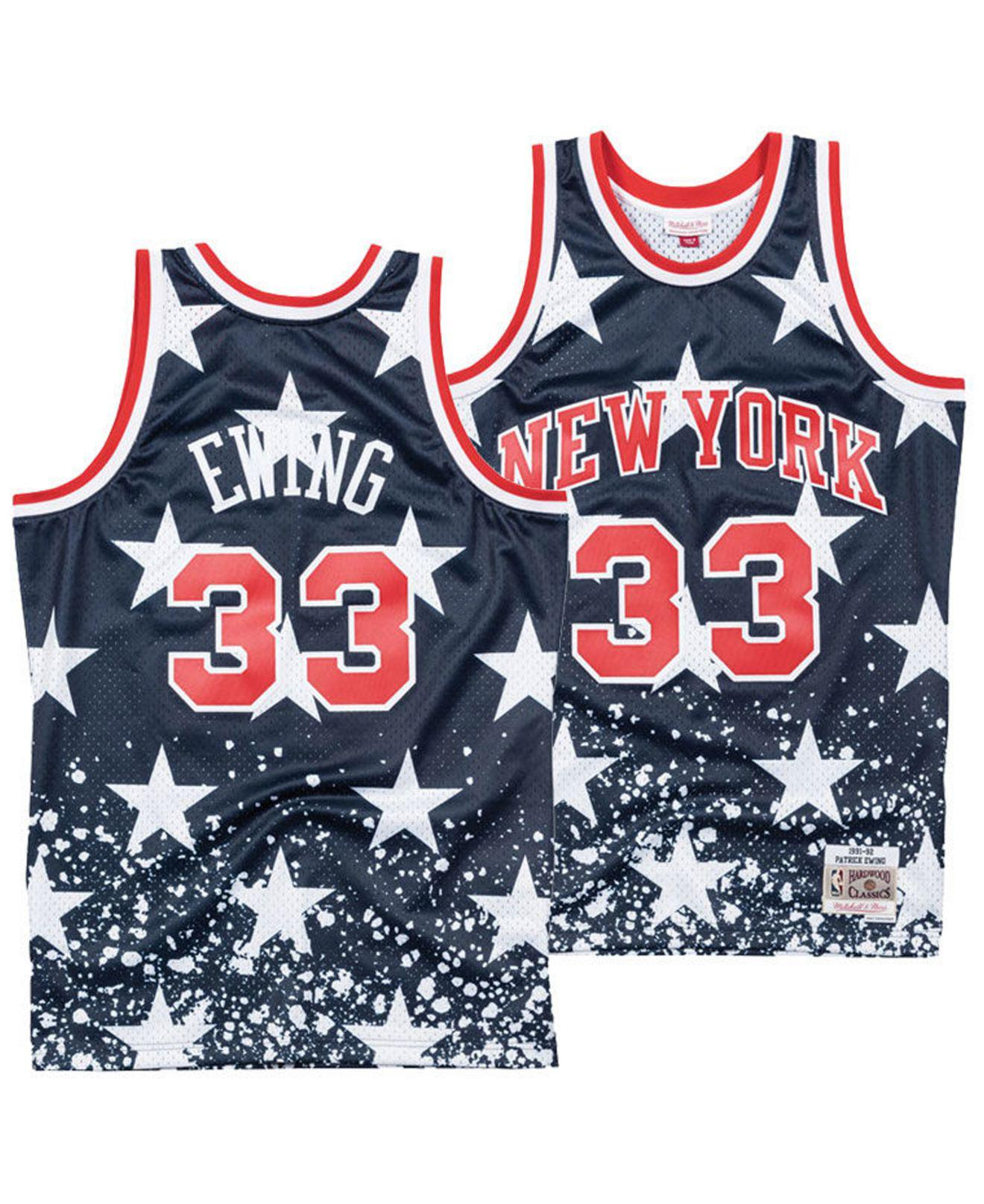 7af10d6a5a9 Mitchell & Ness Patrick Ewing New York Knicks The 4th Swingman ...