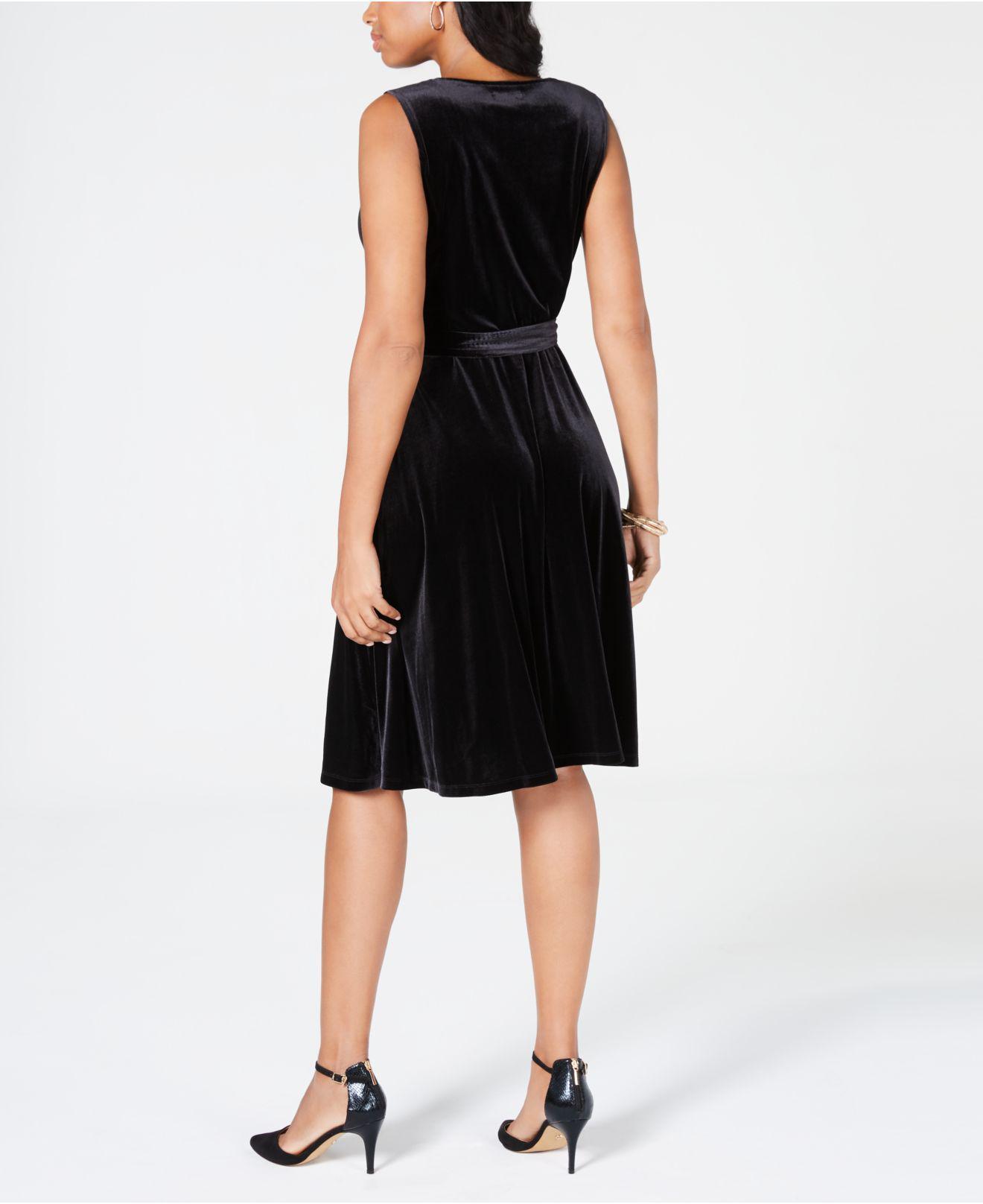 3ab6960ab1 Lyst - Charter Club Velvet Midi Dress