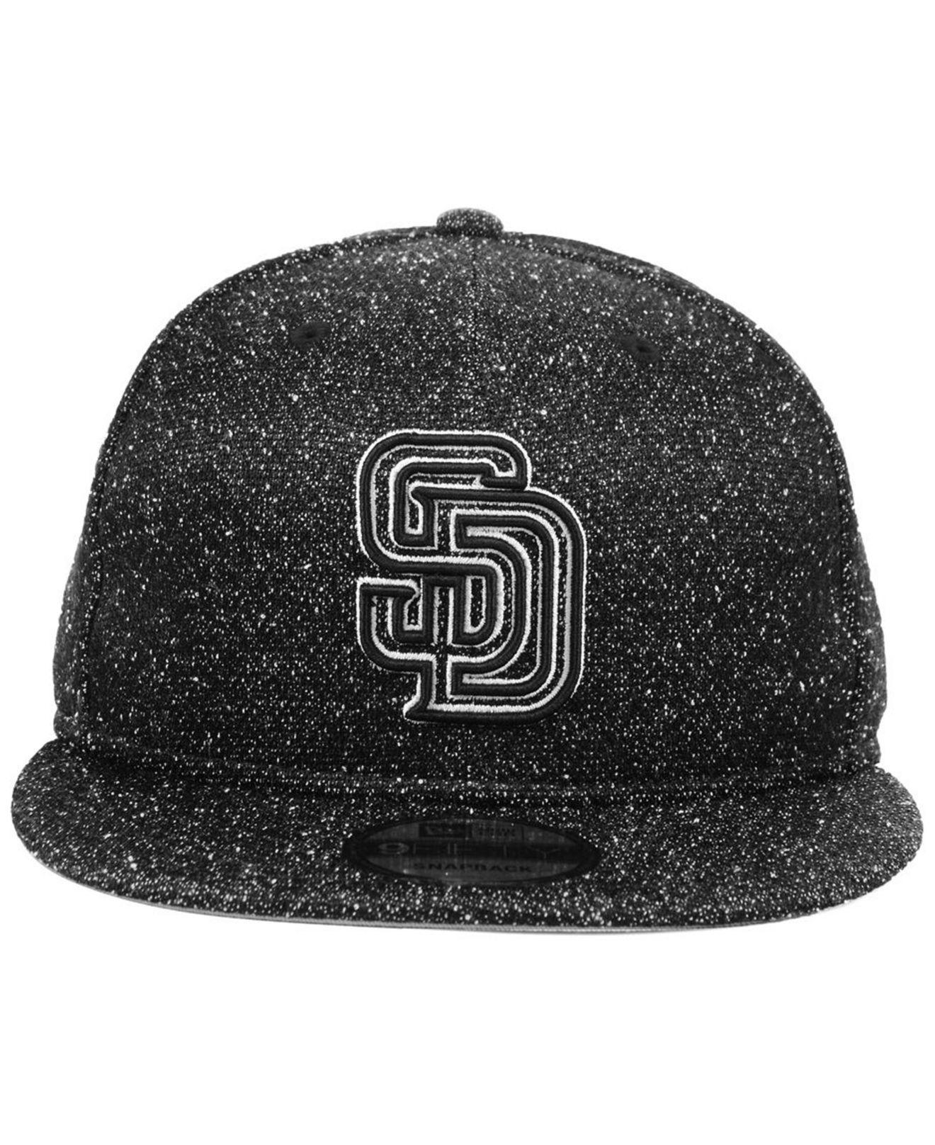03ce58f91ea06 ... sweden lyst ktz san diego padres spec 9fifty snapback cap in black for  men 11422 b594f
