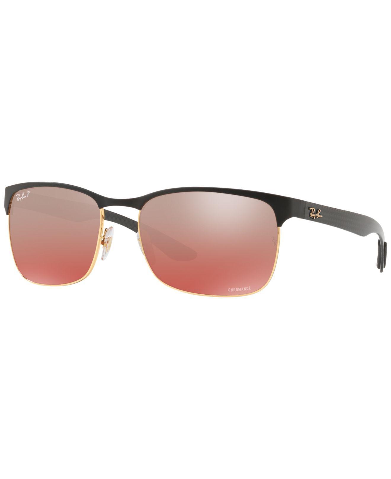 241a950b0a Ray-Ban. Men s Metallic Polarized Sunglasses