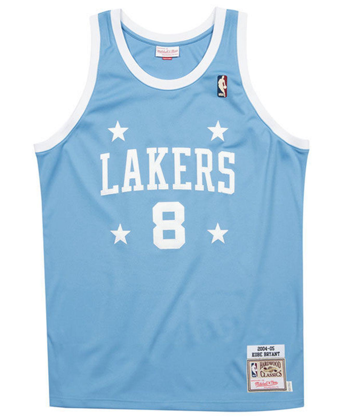 e19369565 Mitchell   Ness - Blue Kobe Bryant Los Angeles Lakers Authentic Jersey for  Men - Lyst. View fullscreen