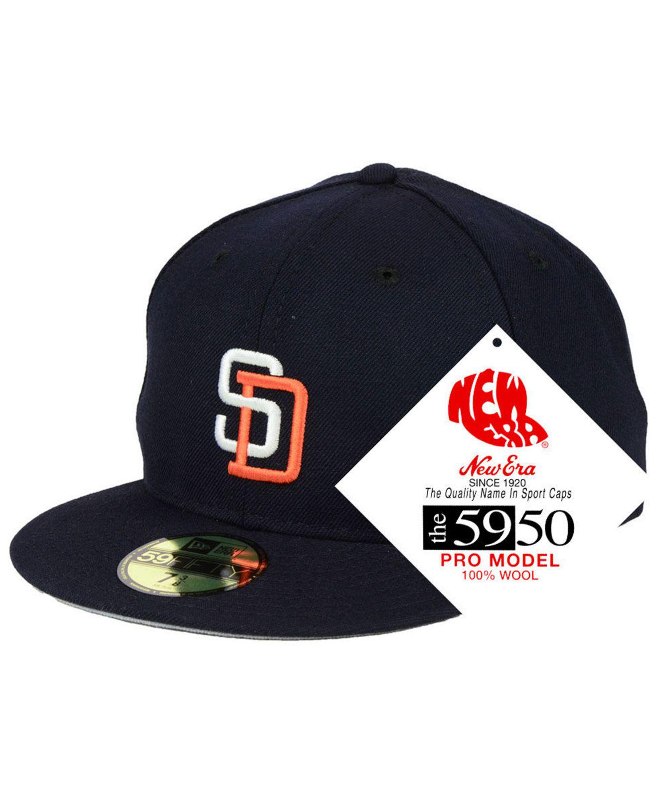 b6887e6e703 Lyst - Ktz Boston Red Sox Retro Classic 59fifty Fitted Cap in Blue ...