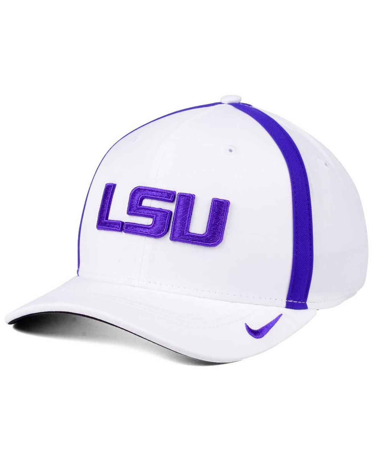 promo code 8be8b f17d2 ... top quality nike. mens white aerobill classic sideline swoosh flex cap  c8300 2d2ee