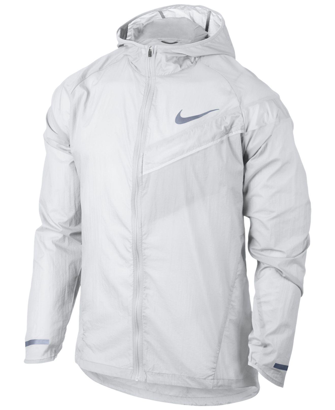 quality design b5f5d 92b85 Nike Men s Impossibly Light Running Jacket in White for Men - Lyst