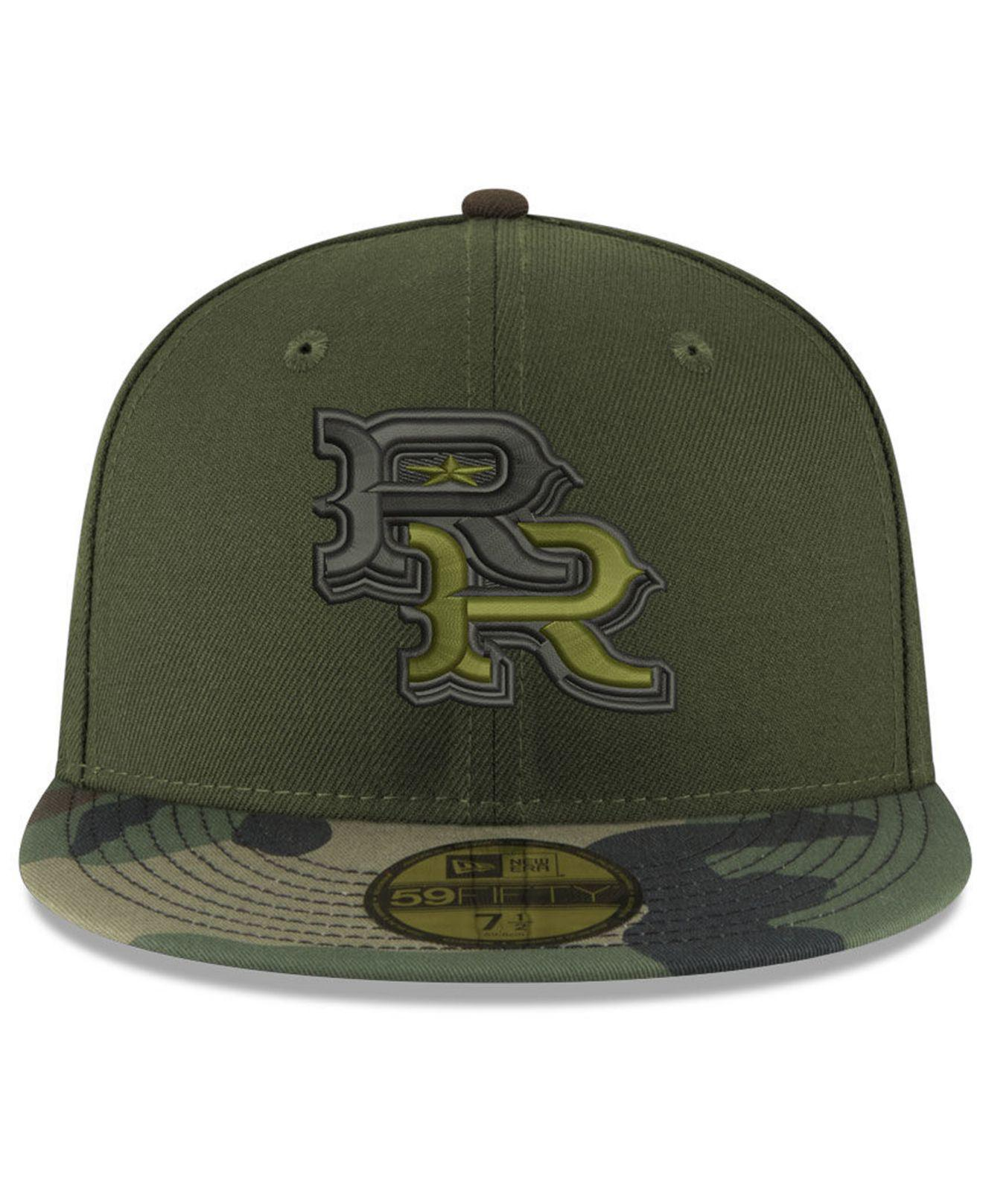 pretty nice e928f 05cd6 KTZ Round Rock Express Ac 59fifty Fitted Cap in Green for Men - Lyst