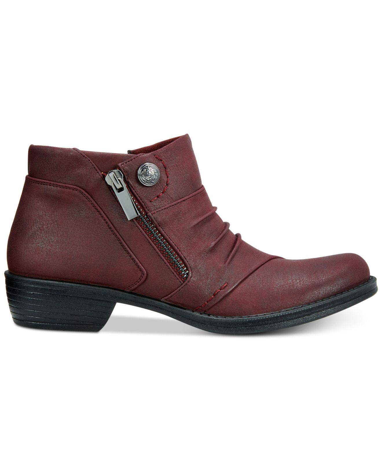 665f94831d34 Lyst - Easy Street Sable Booties
