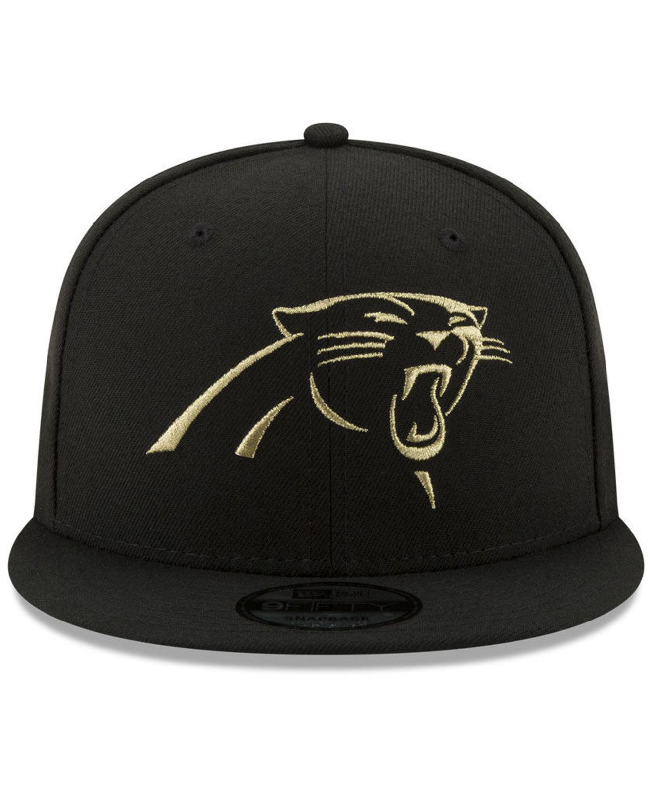 6fbab3dbf best black and gold carolina panthers hat e60f2 b4cf9
