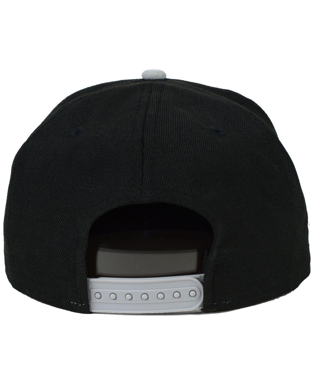 cheaper 5bde5 b4ada KTZ Chicago White Sox 2-tone Link 9fifty Snapback Cap in Black for Men -  Lyst