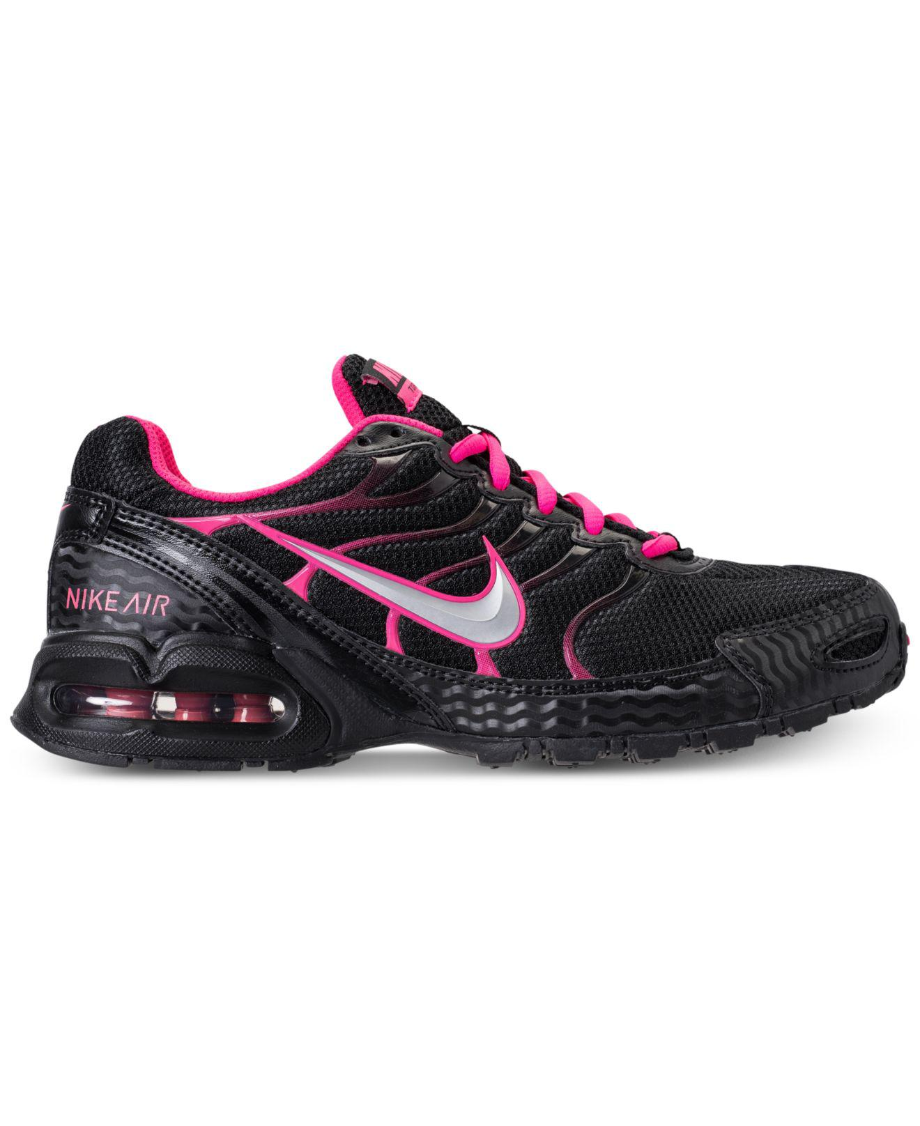5bf64d14b2518 Lyst - Nike Women s Air Max Torch 4 Running Sneakers From Finish Line in  Black