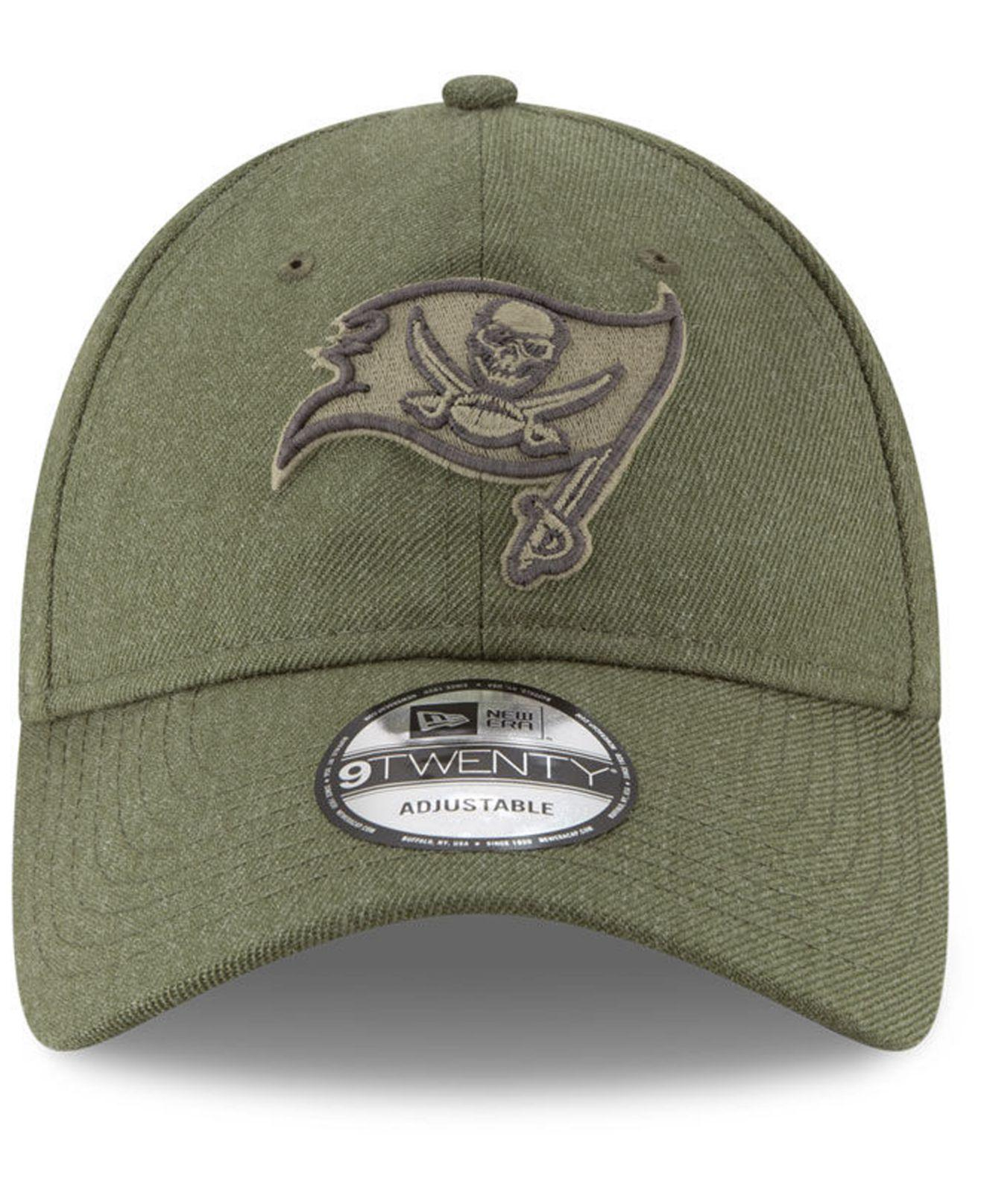 d0e1af803 ... official store lyst ktz tampa bay buccaneers salute to service 9twenty  cap in green for men ...
