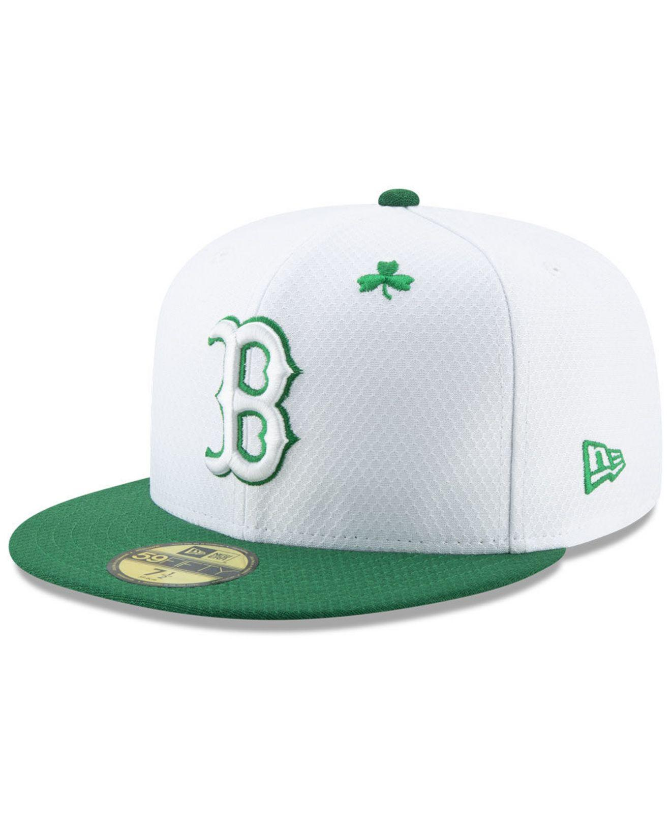 Lyst - KTZ Boston Red Sox St. Pattys Day 59fifty-fitted Cap in Green ... 4c7d7da82f88