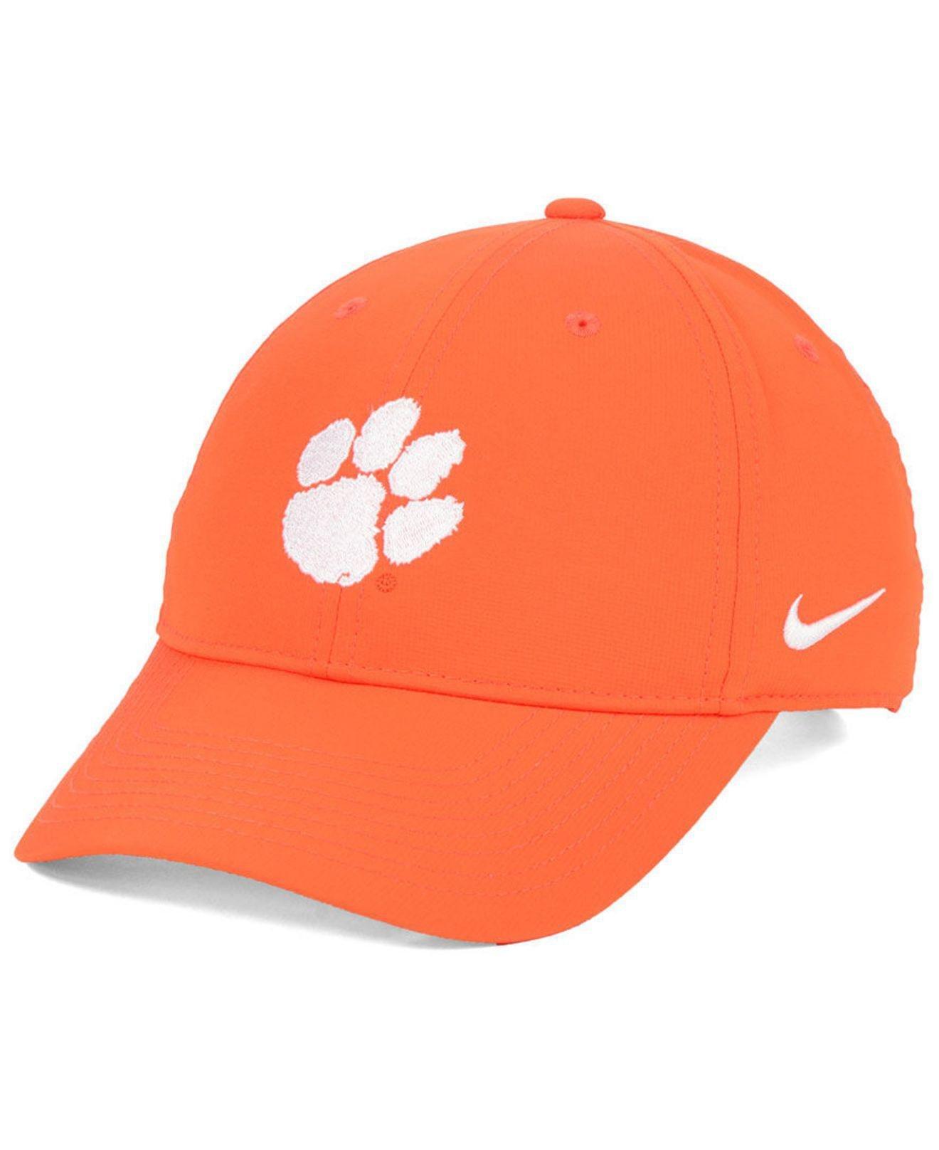quality design edca7 f8a01 Lyst - Nike Clemson Tigers Dri-fit Adjustable Cap in Orange for Men