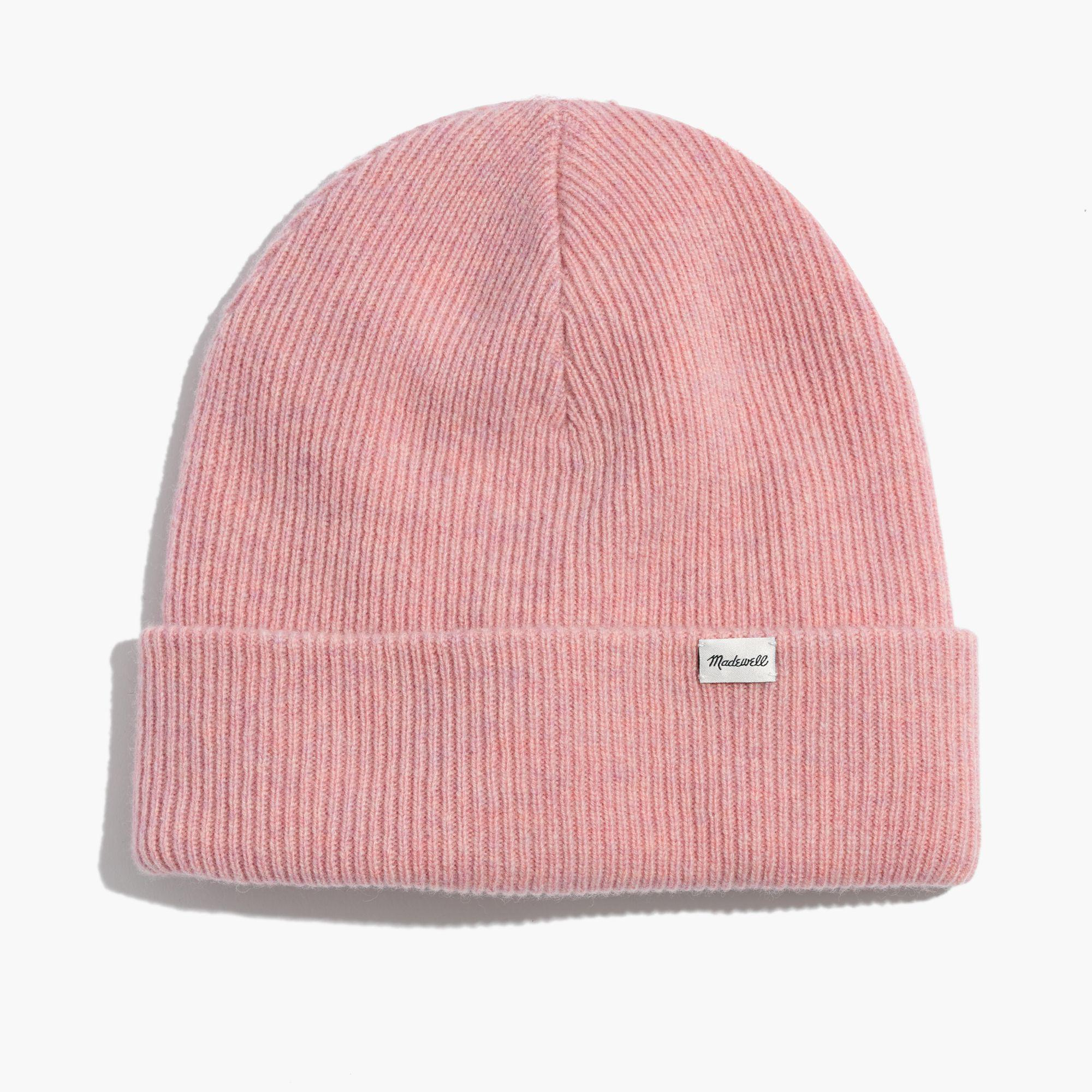 Lyst - Madewell Cuffed Cozy-knit Beanie in Pink for Men a88488ec94e9