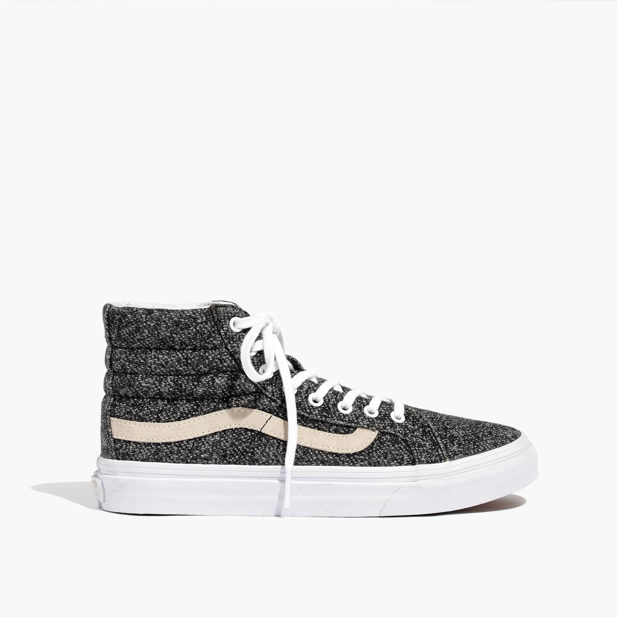 45de41262f Lyst - Madewell Vans® Unisex Sk8-hi High-top Sneakers In Marled ...
