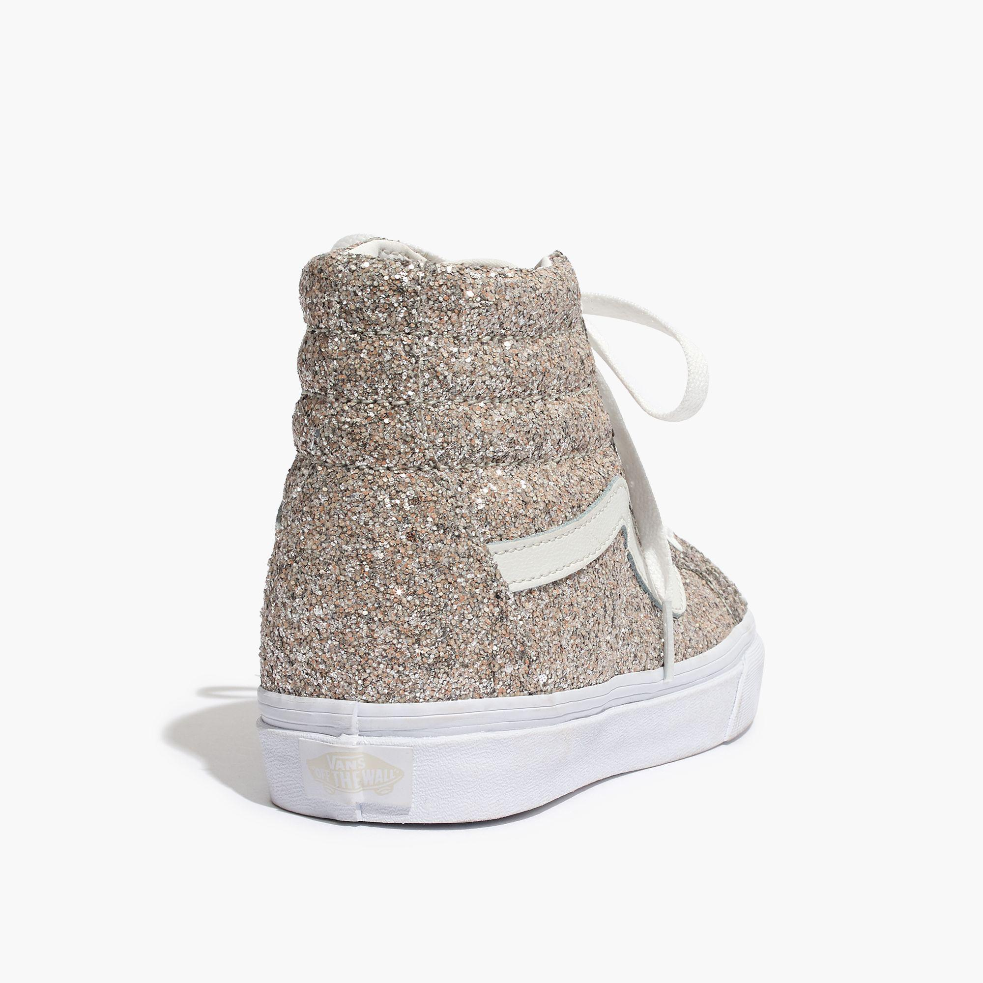 b2883c00a9a6aa Lyst - Madewell Vans® Unisex Sk8-hi High-top Sneakers In Glitter