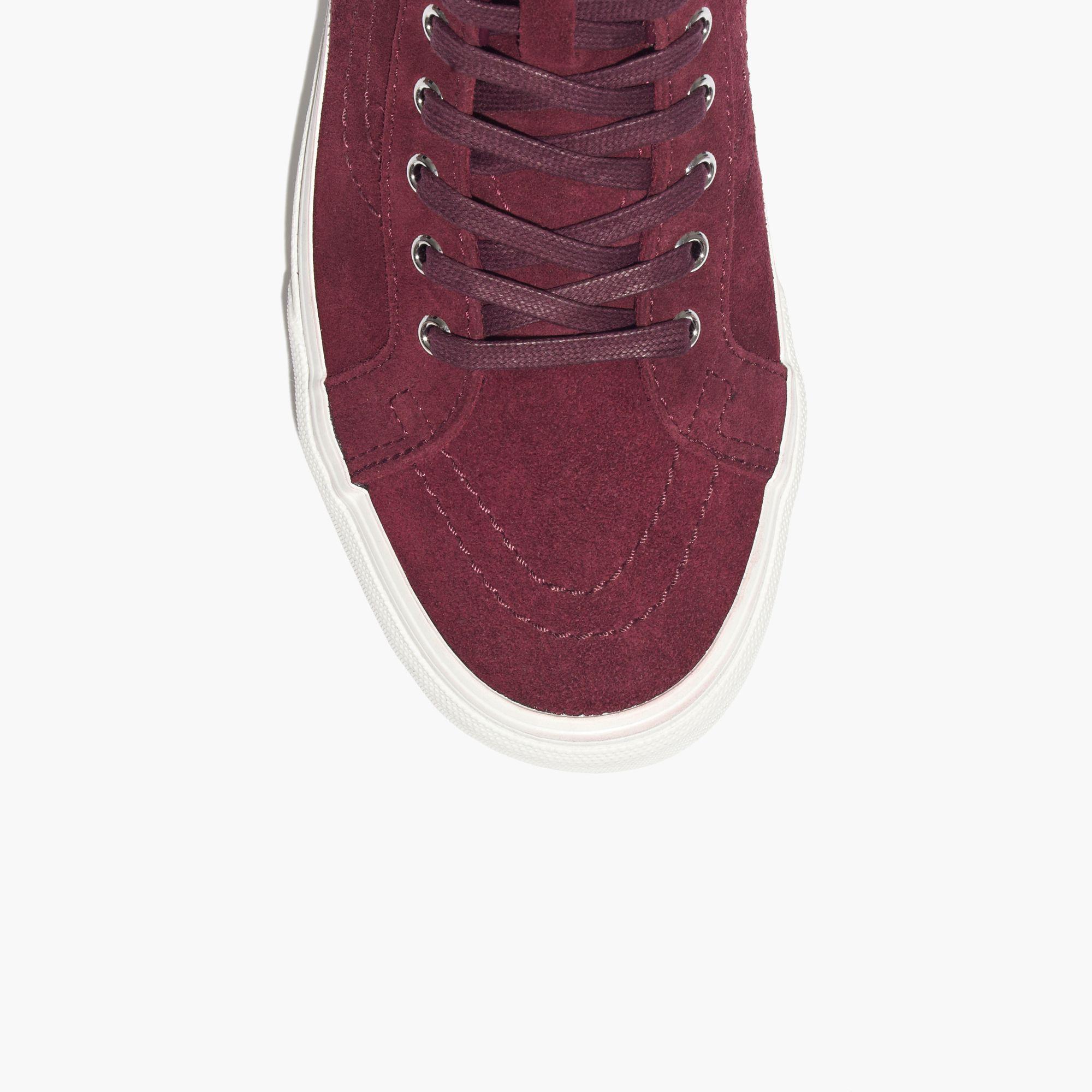 b7a3c2292b9ea2 Madewell Vans® Sk8-hi Moccasin High-top Sneakers in Purple - Lyst