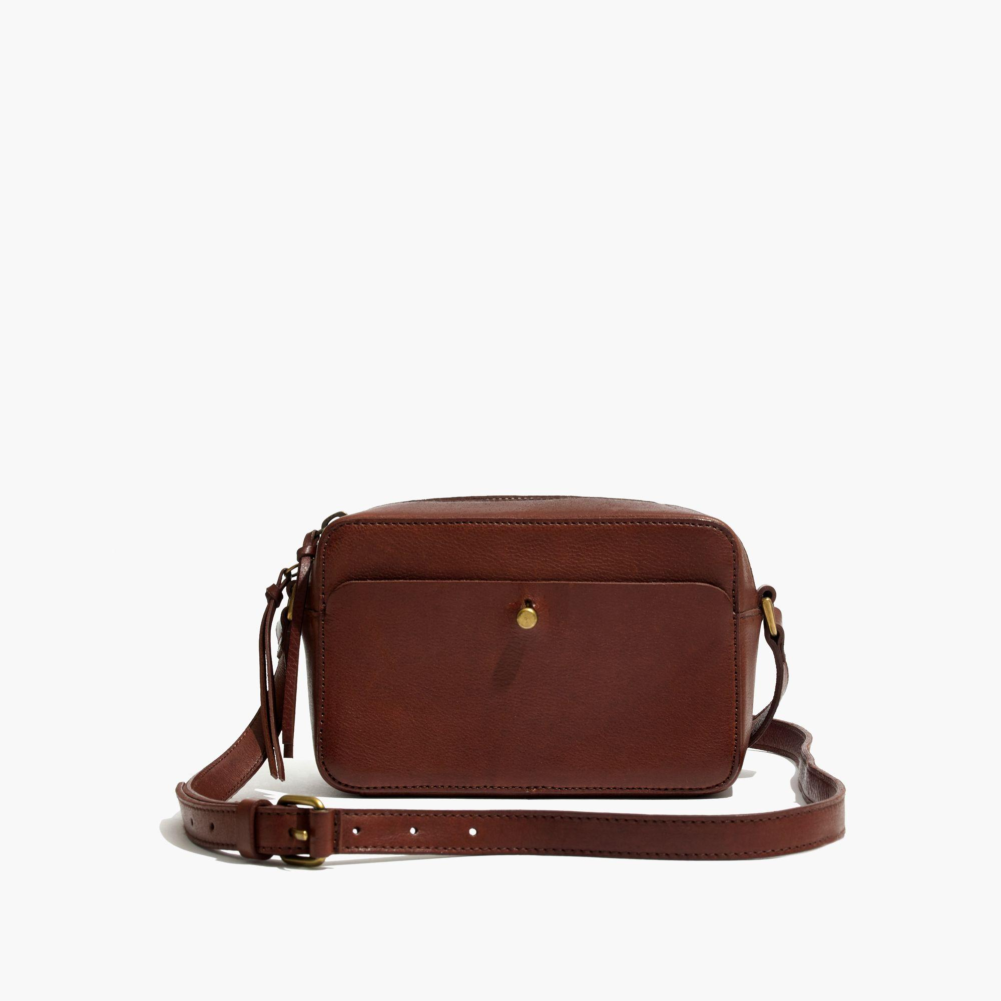 madewell the manchester crossbody bag in leather lyst