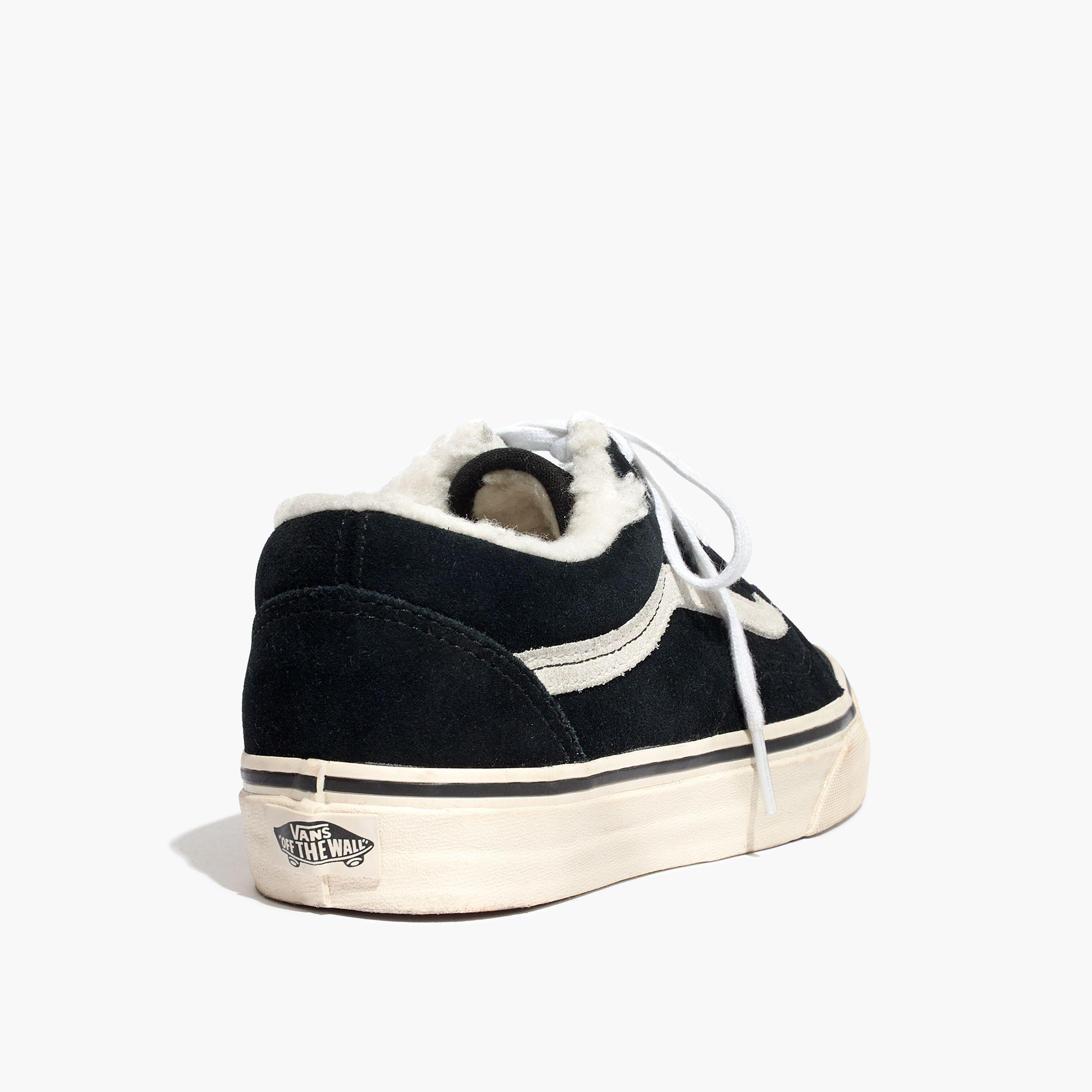 2a9f78bee7e Lyst - Madewell X Vans® Unisex Old Skool Sneakers In Suede And ...