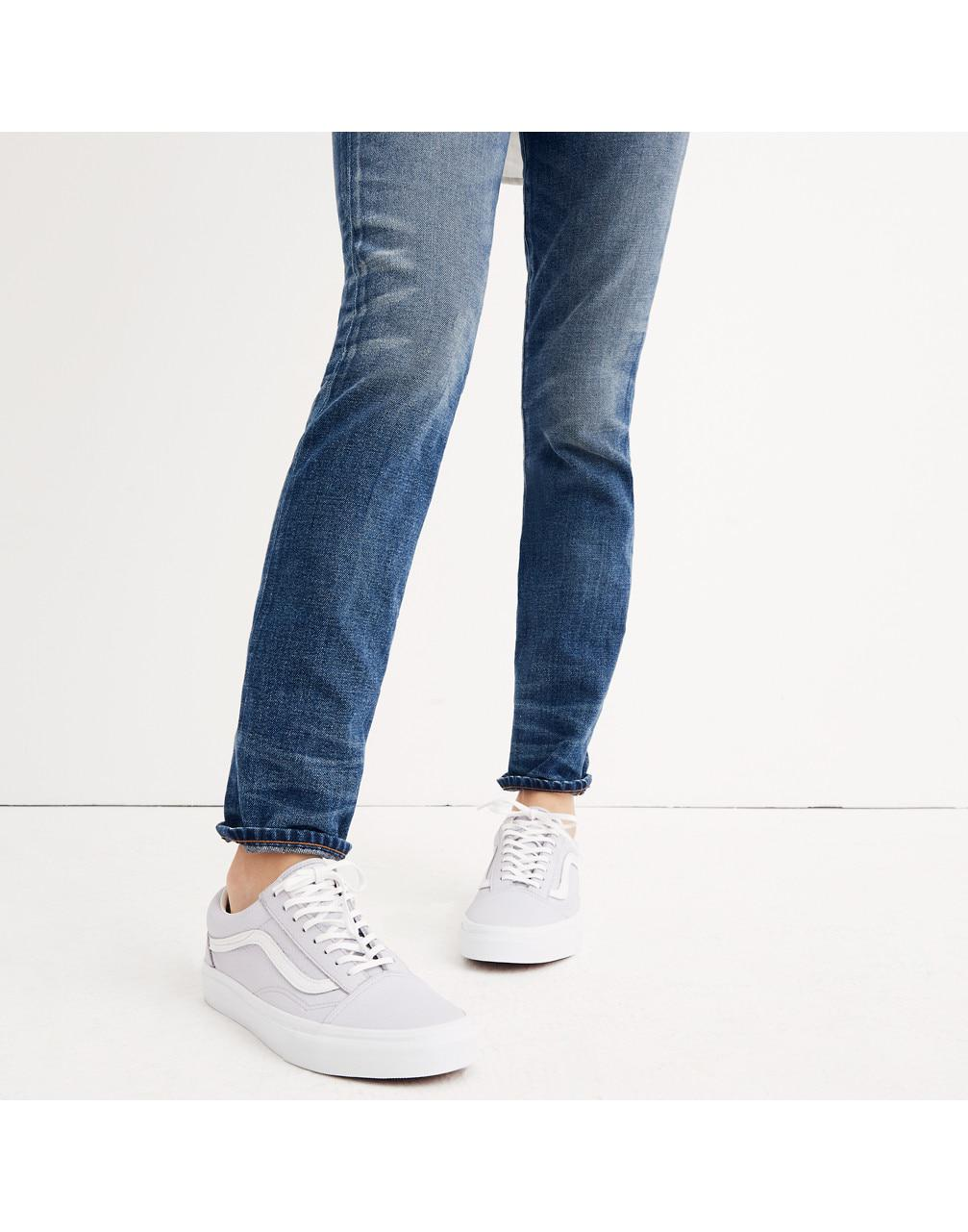 6d8d12e3b042e5 Lyst - Madewell X Vans Unisex Old Skool Lace-up Sneakers In Tumbled ...