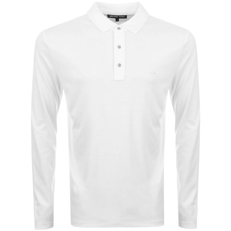 bb3ceb83 Lyst - Michael Kors Sleek Polo T Shirt White in White for Men