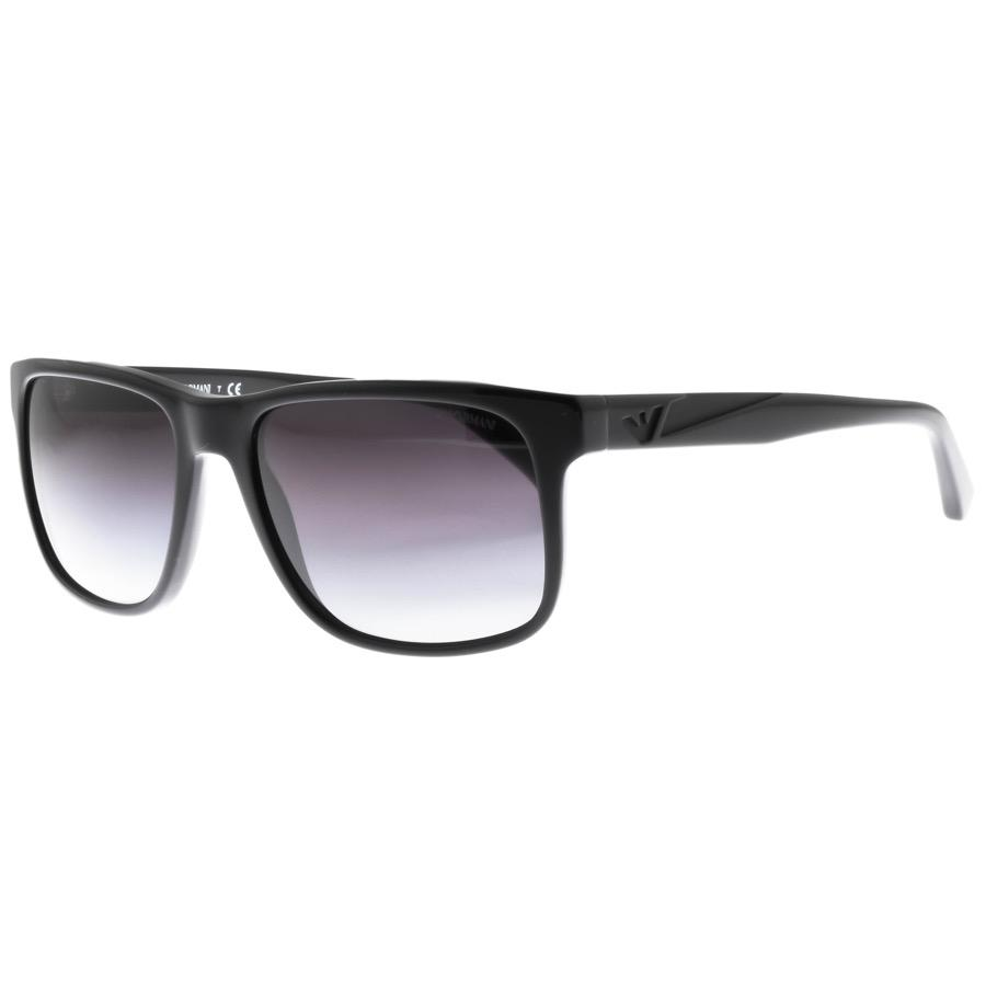 bddc6ab4da9d Armani Emporio Ea4071 Sunglasses Black in Black for Men - Lyst