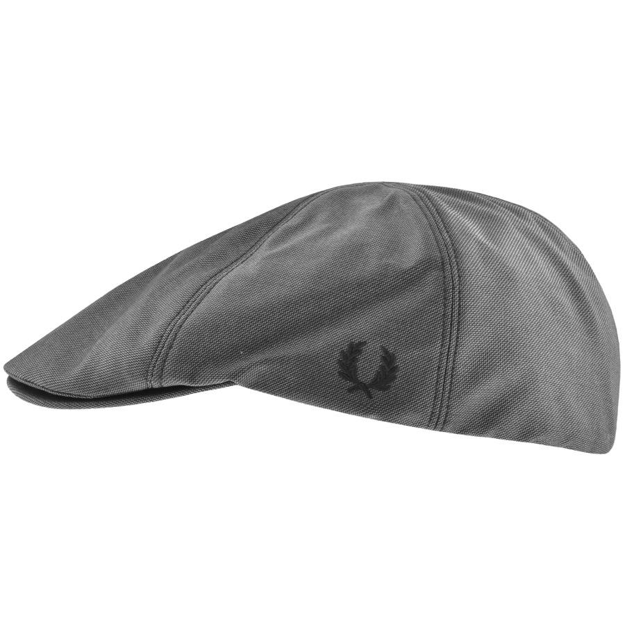 Lyst - Fred Perry Tonal Dobby Flat Cap Grey in Gray for Men be984cc066d