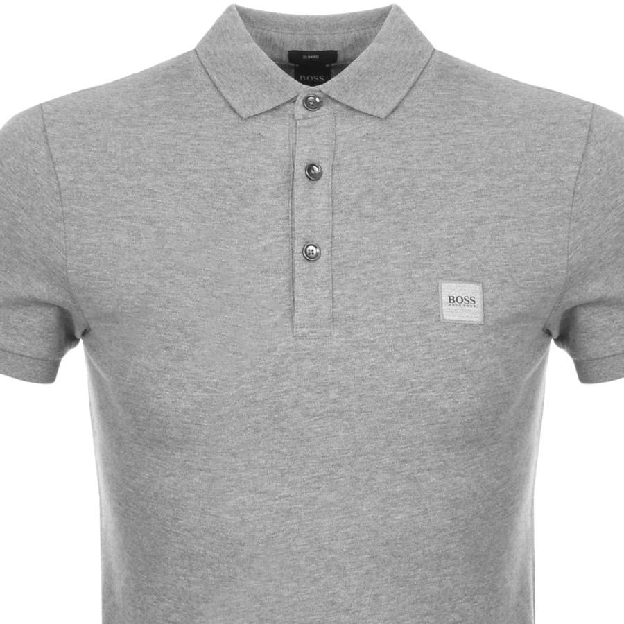 BOSS by Hugo Boss Passenger Polo T Shirt Grey in Gray for Men - Lyst d3abe6ebf