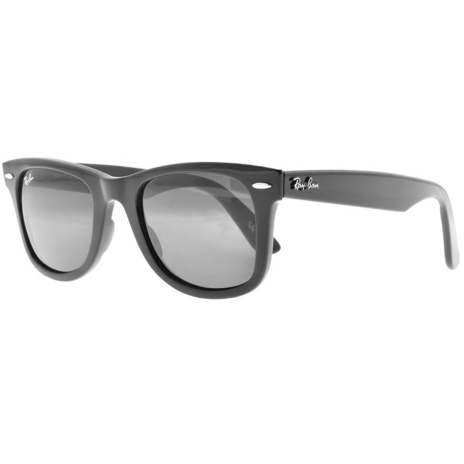18806a3336 Ray-Ban Ray Ban 4340 Wayfarer Sunglasses Black in Black for Men - Lyst