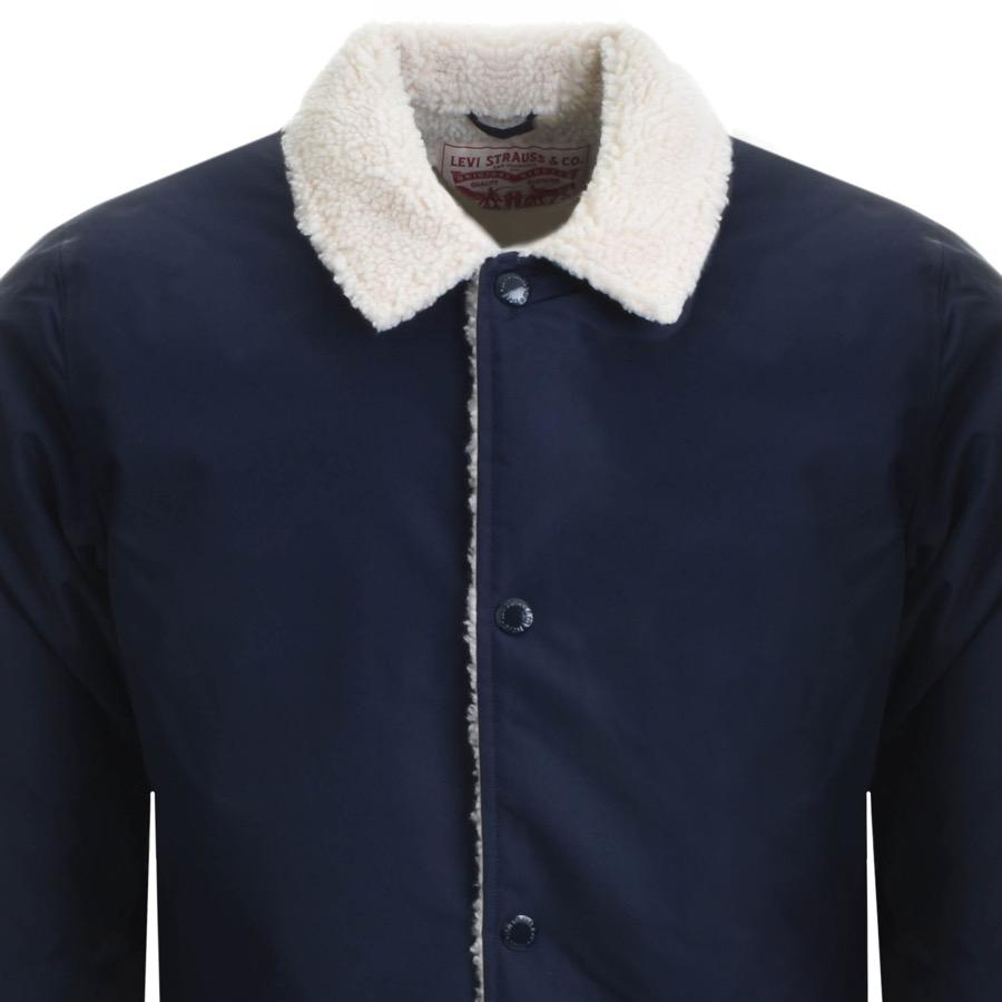 813811d4e19d Men Coach Lyst Sherpa For Jacket Blue In Levi's vgBwq6