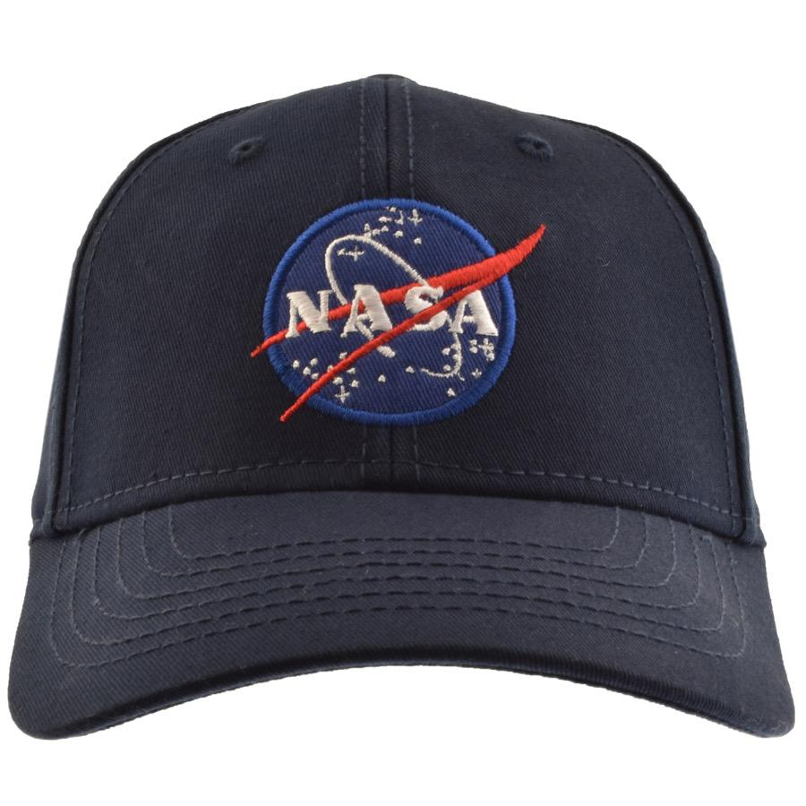 8d3c05f77d9 Lyst - Alpha Industries Nasa Cap Blue in Blue for Men