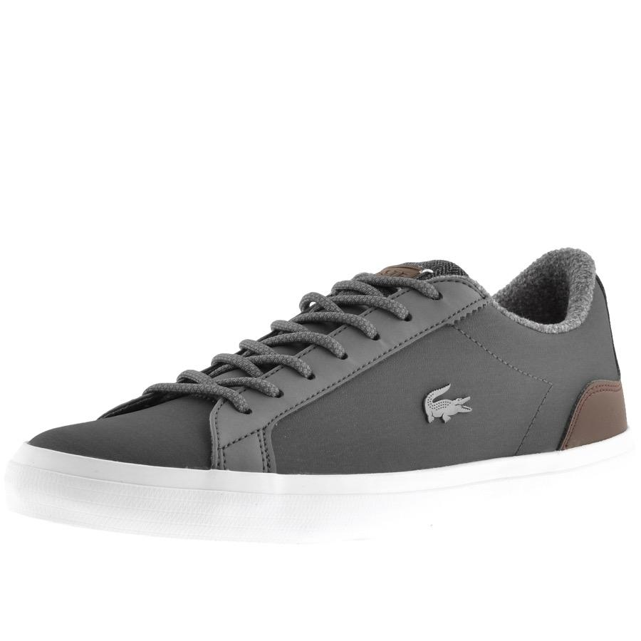 a8f27126f Lacoste Lerond Trainers Black in Black for Men - Lyst