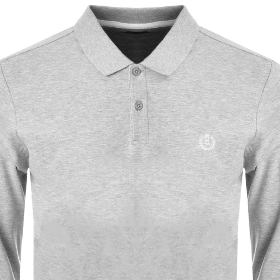 da7edd1cf01 Henri Lloyd Musburry Long Sleeve Polo T Shirt Grey in Gray for Men ...